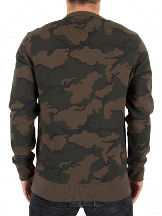 Levi's Camo Graphic Sweatshirt