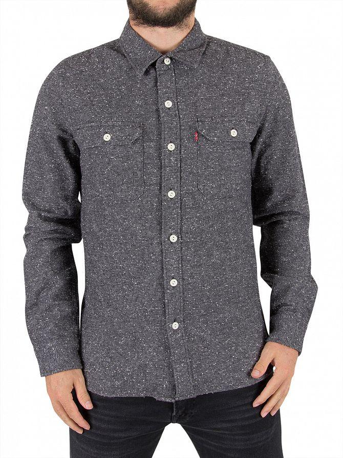 Levi's Dark Heather Jackson Larch Worker Shirt