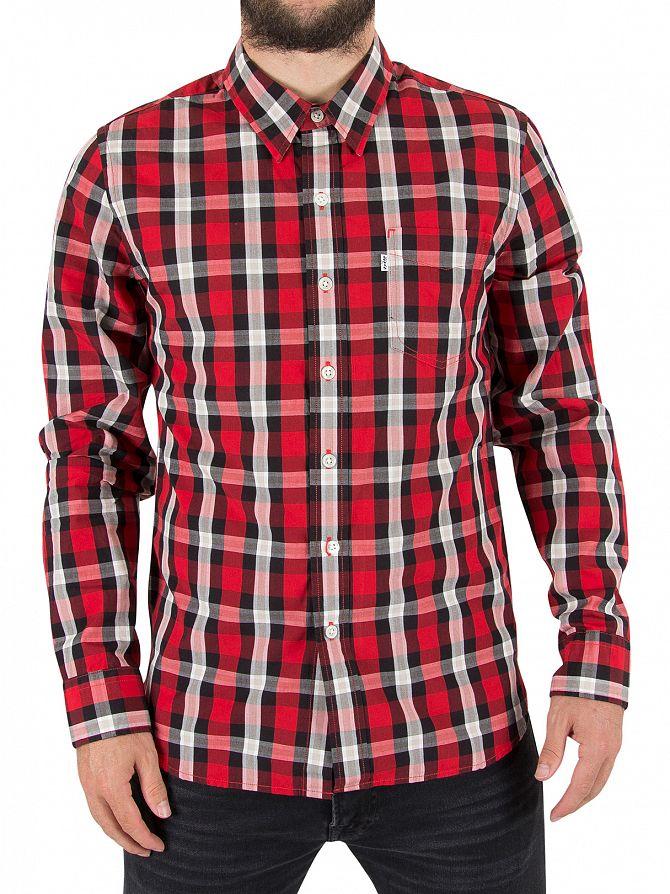 Levi's Aspen Cherry Sunset Pocket Shirt