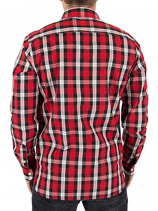 Levi's Aspen Cherry Sunset Pocket Shirt