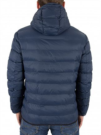 Lyle & Scott Navy Lightweight Puffer Jacket