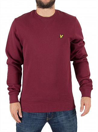 Lyle & Scott Claret Jug Logo Sweatshirt