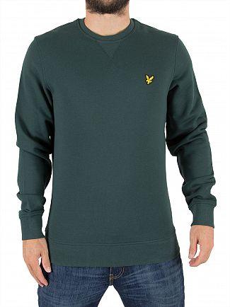 Lyle & Scott Forest Green Logo Sweatshirt