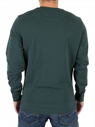 Lyle & Scott Forest Green Logo Sweatshirt