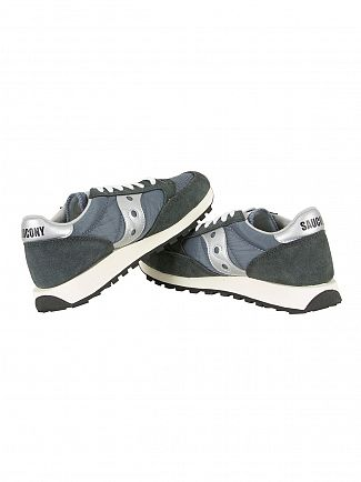 Saucony Blue/Navy/Silver Jazz Original Vintage Trainers