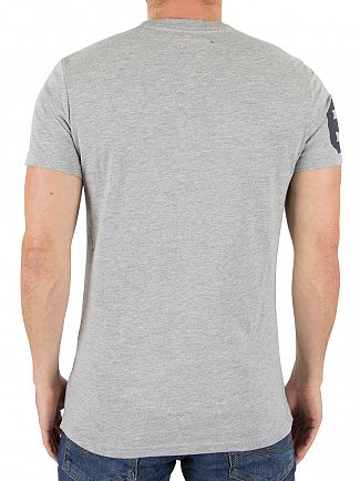 Superdry Grey Marl Celebration T-Shirt