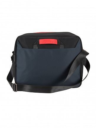 Superdry Navy/Optic Premium Lineman Messenger Bag