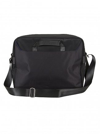 Superdry Black/Black Premium Lineman Messenger Bag