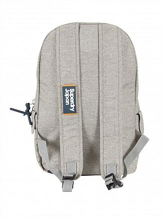 Superdry Light Grey Marl Super Trinity Montana Bag