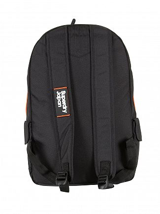 Superdry Black Super Trinity Montana Bag