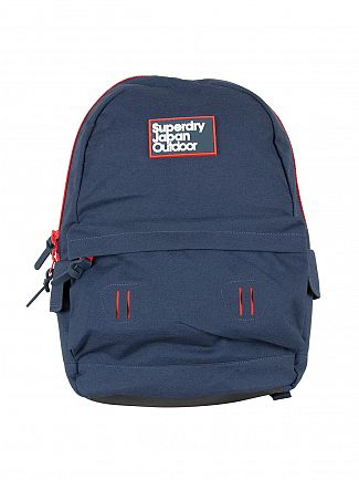 Superdry Navy Grit Super Trinity Montana Bag