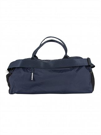 Superdry Navy Trackmaster Barrel Bag