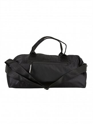 Superdry Black Trackmaster Barrel Bag