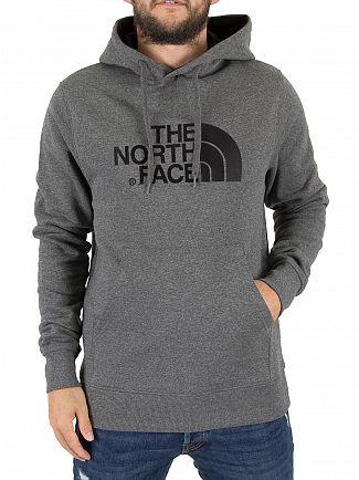 The North Face Grey Drew Peak Pullover Logo Hoodie
