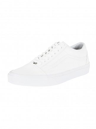 Vans True White Old Skool Classic Tumble Trainers