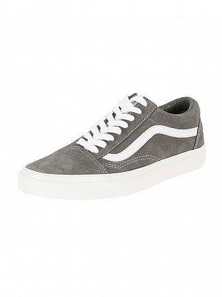 Vans Gunmetal Old Skool Retro Sport Trainers