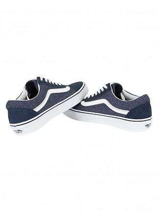 Vans Dress Blue Old Skool Suede & Suiting Trainers