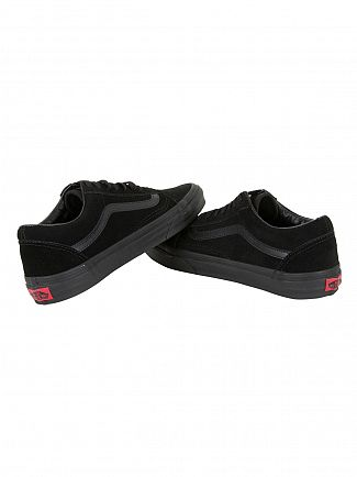 Vans Black/Black/Black Old Skool Suede Trainers