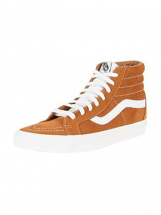 Vans Glazed Ginger Sk8-Hi Reissue Retro Sport Trainers