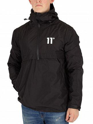 11 Degrees Black Hurricane Logo Jacket