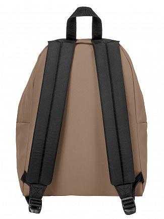 Eastpak Cream Beige Padded Pak'R Logo Backpack