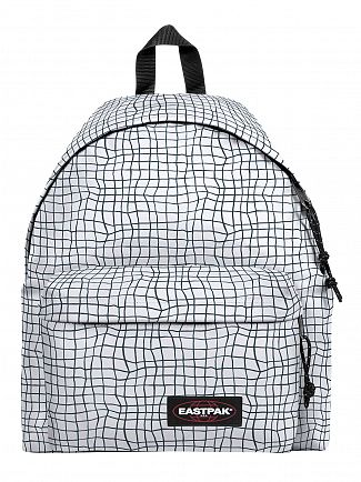 Eastpak White Dance Padded Pak'R Logo Backpack