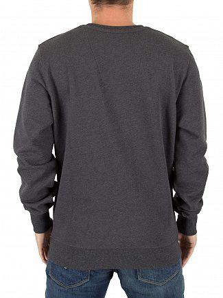 G-Star Black Heather Core Logo Sweatshirt