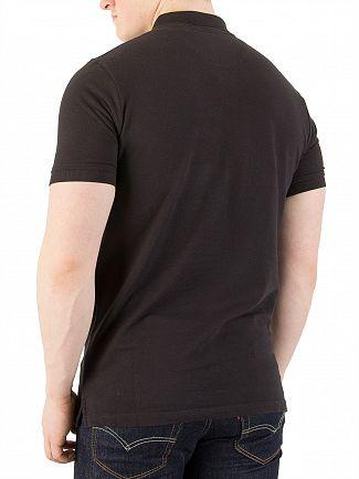 Lyle & Scott True Black Logo Polo Shirt