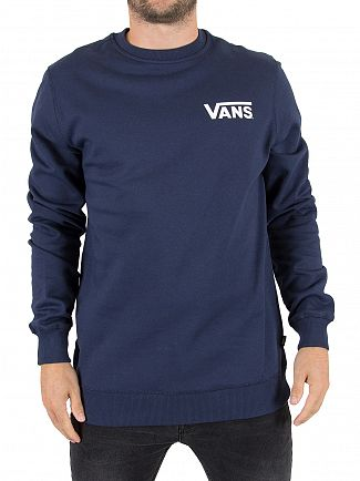 Vans Dress Blue Exposition Logo Sweatshirt
