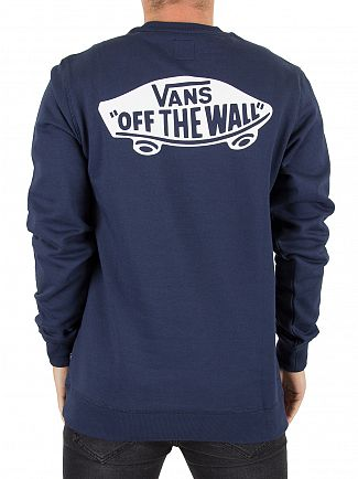 Vans Dress Blue Exposition Logo Sweatshirt
