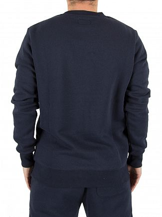 Converse Navy Core Chest Logo Sweatshirt