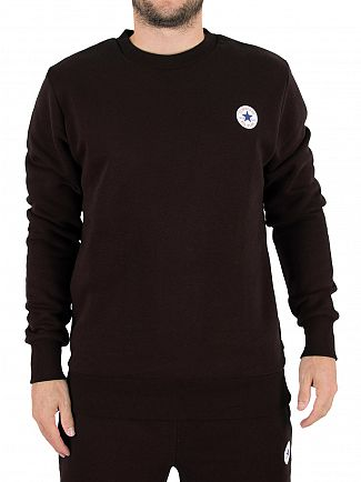 Converse Black Core Chest Logo Sweatshirt