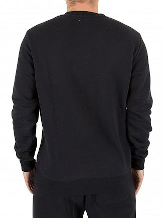 Converse Black Core Chest Logo Sweatshirt