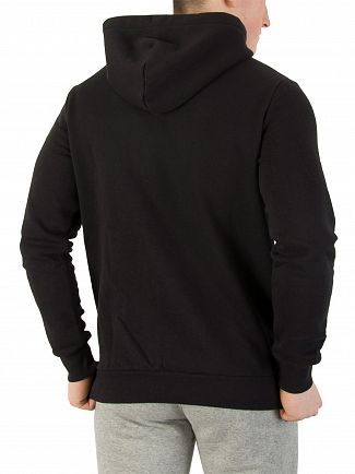 Converse Black Core Chest Logo Zip Hoodie