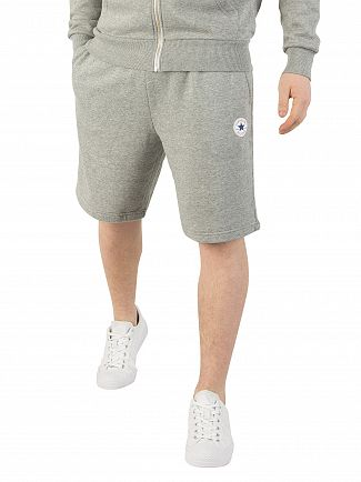 Converse Grey Heather Core Logo Shorts