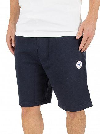 Converse Navy Core Logo Shorts