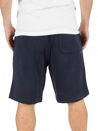 Converse Navy Core Logo Shorts