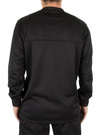 Converse Black Hybrid Sweatshirt