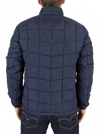 Gant Navy The Lightweight Cloud Logo Jacket