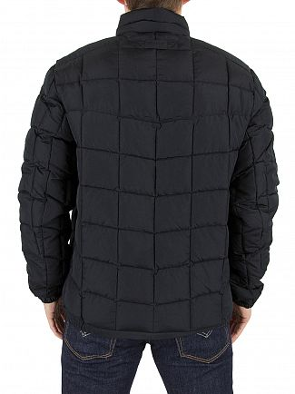 Gant Black The Lightweight Cloud Logo Jacket