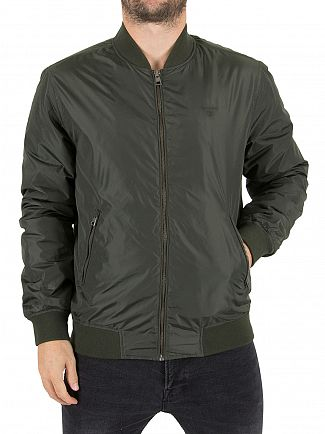 Gant Country Green The Winter Pilot Logo Jacket