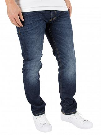 Jack & Jones Blue Denim Tim Original 011 CR Jeans