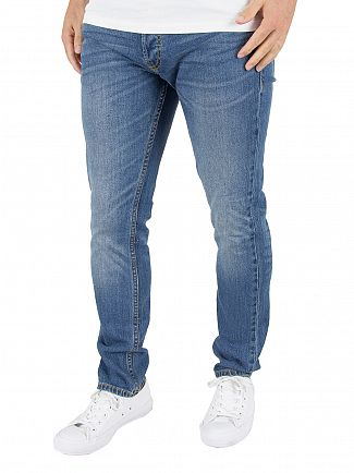 Jack & Jones Blue Denim Tim Original 012 CR Jeans