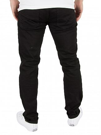 Jack & Jones Black Denim Tim Original 013 CR Jeans