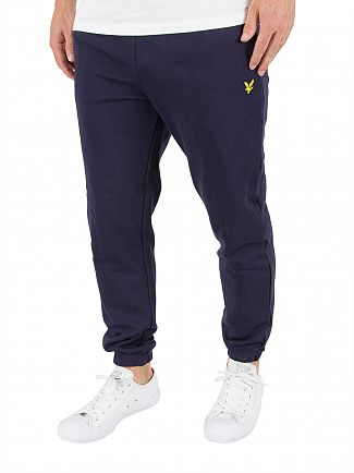 Lyle & Scott Navy Slim Fit Logo Joggers
