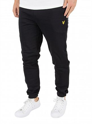 Lyle & Scott True Black Slim Fit Logo Joggers
