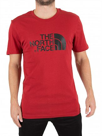 The North Face Cardinal Red Easy Logo T-Shirt