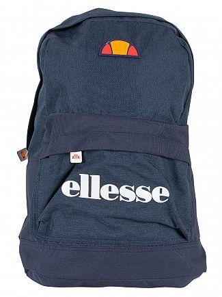 Ellesse Navy/Navy Marl Regent II Logo Backpack