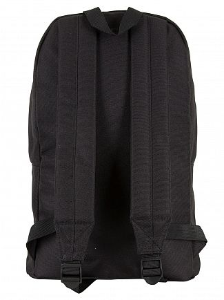 Ellesse Black Mono Regent II Logo Backpack