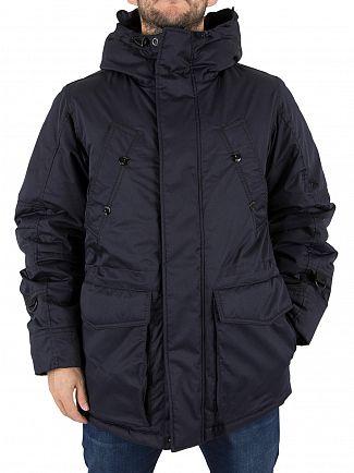 G-Star Mazarine Blue Whistler Short Parka Jacket